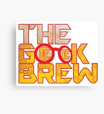 The Geek Brew Retro Logo Canvas Print