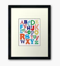 Nursery / Playroom Art Framed Print