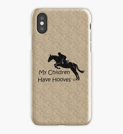 My Children Have Hooves Horse  iPhone Case