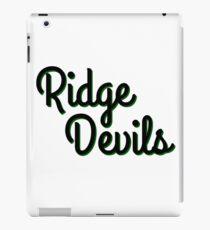 Ridge Devils iPad Case/Skin