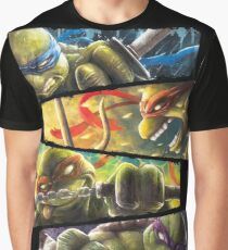 TMNT - Turtle Power Graphic T-Shirt