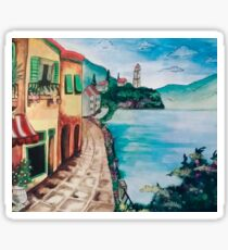 Little Italy Painting Sticker