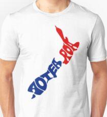 Aotearoa T-Shirt, New Zealand Unisex T-Shirt