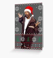 Snoop Christmas Greeting Card