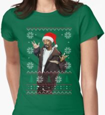Snoop Christmas Women's Fitted T-Shirt