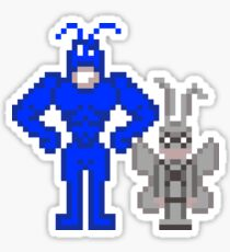 The Tick + Arthur Sticker