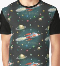 Zelda the Chook in her Rocket! Graphic T-Shirt