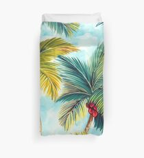 Tropical Palm Trees Duvet Cover