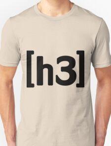 h3h3 - Black Unisex T-Shirt