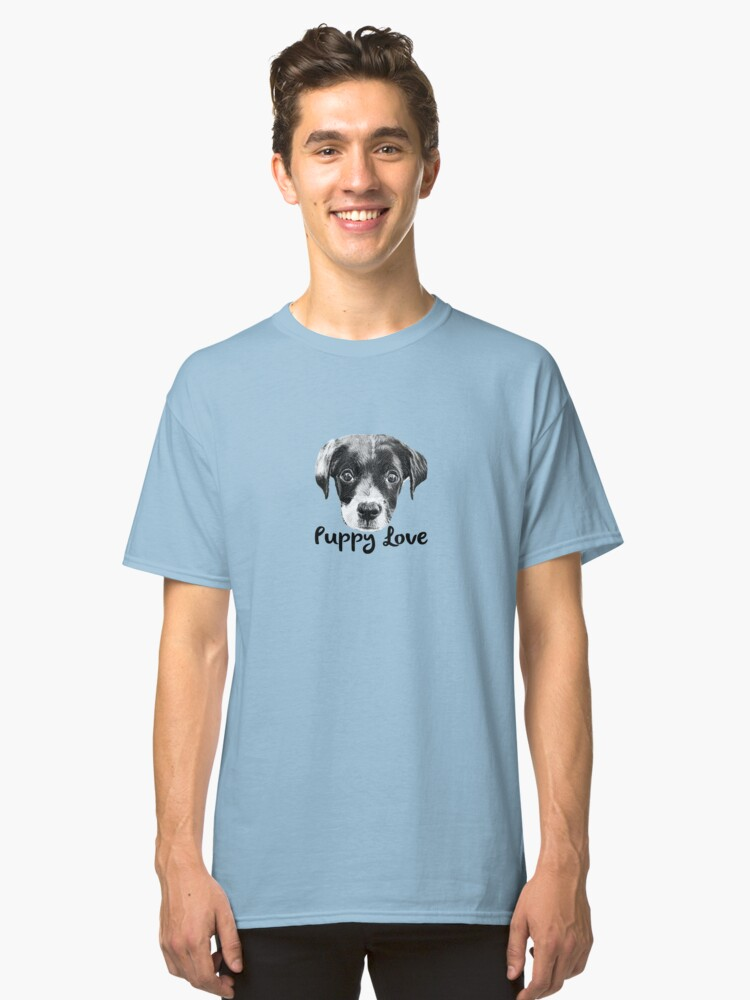 Puppy Love - Mister Eli Classic T-Shirt Front