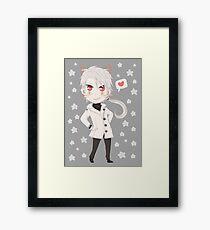 Kitty Zen Framed Print