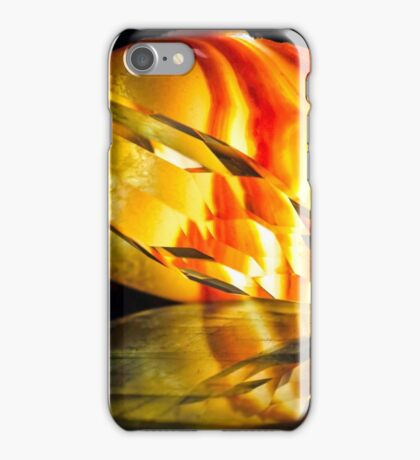 Fire in the Stones iPhone Case/Skin