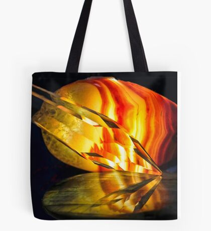 Fire in the Stones Tote Bag