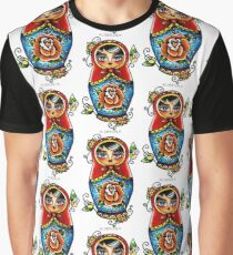 Matryoshka Doll Graphic T-Shirt