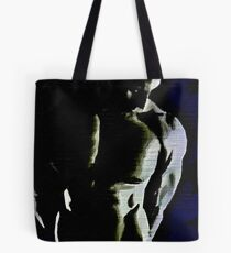 Black & Blue Torso (Original Sold-available in limited edition 2 of 50) Tote Bag