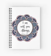 Matthew 28:20 Spiral Notebook