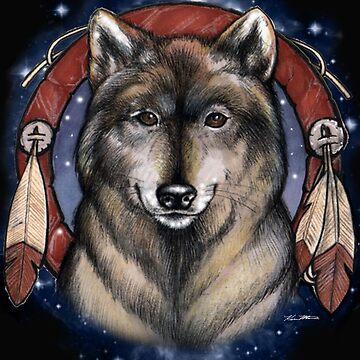 Wolf Spirit - Ken Mills Art by DesignsbyKen