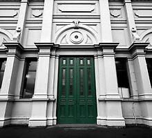 The Green Door by Elizabeth Tunstall