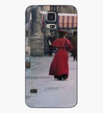 Woman in red Case/Skin for Samsung Galaxy