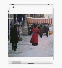 Woman in red iPad Case/Skin
