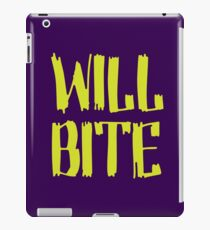 Will Bite iPad Case/Skin