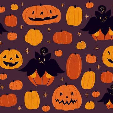Parche Pumpkin Pumpkin de otoño de Luminee