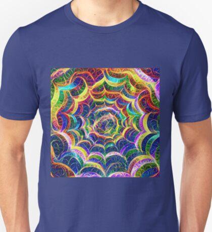 Spider web #DeepDream B T-Shirt