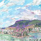 Mount Wellington, from MONA by John Douglas