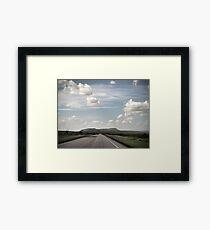 The Open Road Framed Print