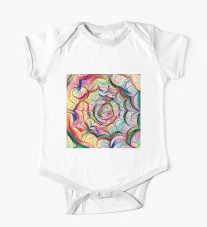 Spider web #DeepDream C Kids Clothes