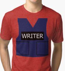Writer's Vest Tri-blend T-Shirt