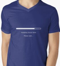 Installing Social Skills... Please Wait T-Shirt