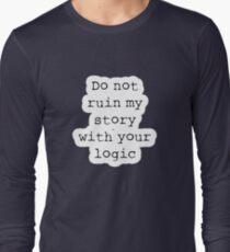 What Richard Castle Said Long Sleeve T-Shirt