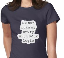 What Richard Castle Said Womens Fitted T-Shirt