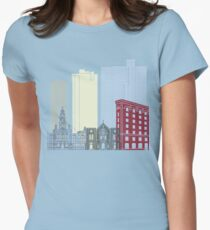 Fort Worth skyline poster T-Shirt