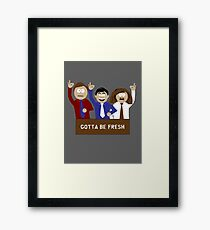 Tight Butthole Crew Framed Print