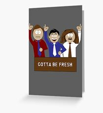 Tight Butthole Crew Greeting Card