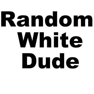 Random White dude by jaayduubs