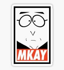 MKAY Sticker