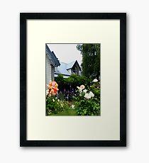 Beautiful Akaroa    New Zealand Framed Print