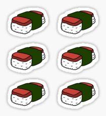 Spam Musubi mini stickers Sticker