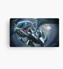 Emerging Blue-eyes White Dragon Canvas Print