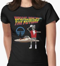 Bring Back the Future Horizons Robot Butler Women's Fitted T-Shirt