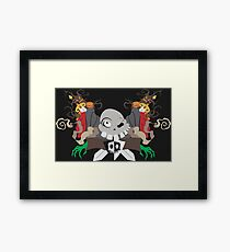 Return to the Graveyard Framed Print