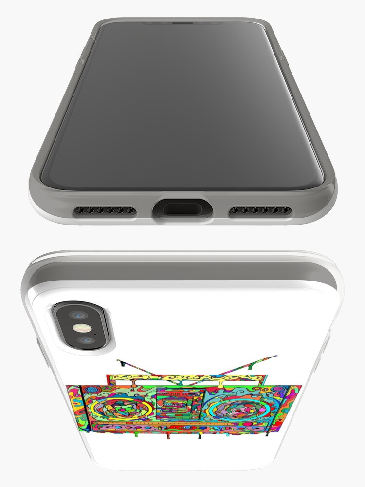 Alternate view of Boom Box iPhone Case & Cover
