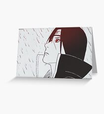 Uchiha Itachi : 3 Greeting Card