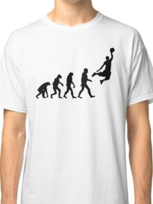 Evolution of Basketball Classic T-Shirt