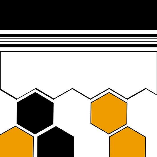 Hexagon desing v.2 by Kevin Martín