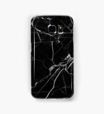 Black Marble Samsung Galaxy Case/Skin