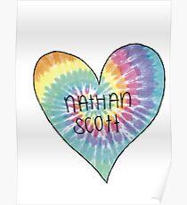 I Heart Nathan Scott - One Tree Hill Poster